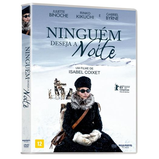 DVD Ninguém Deseja a Noite