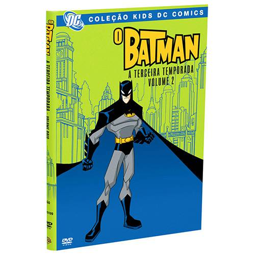 DVD o Batman 3ª Temporada Vol. 2