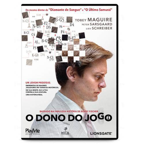 Dvd - o Dono do Jogo