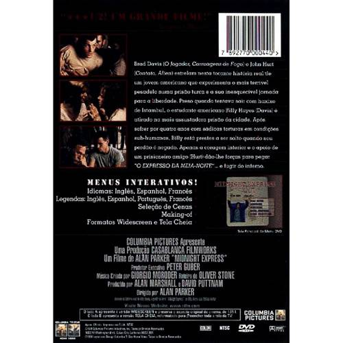 DVD o Expresso da Meia Noite