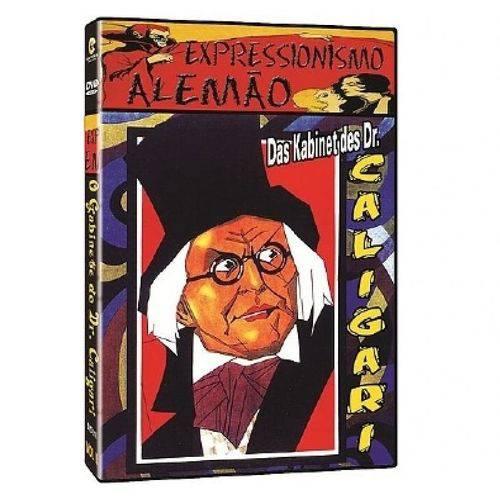 DVD o Gabinete do Dr. Caligari - Vol. 2
