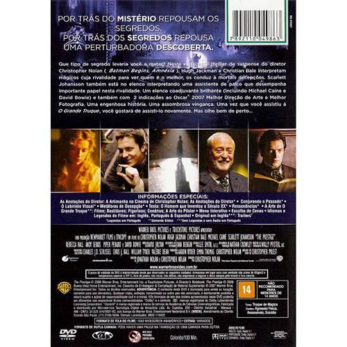 DVD o Grande Truque
