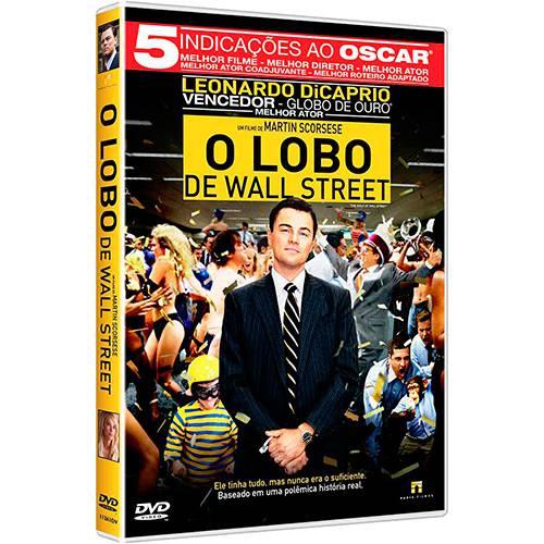 DVD - o Lobo de Wall Street