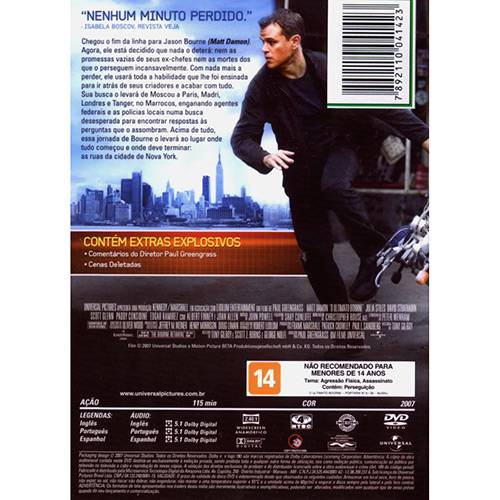 DVD o Ultimato Bourne