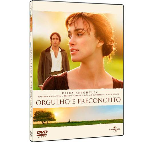 DVD Orgulho e Preconceito