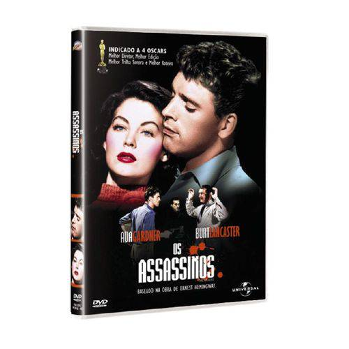 DVD os Assassinos - Burt Lancaster