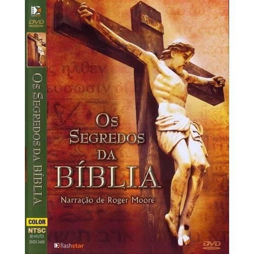 Dvd - os Segredos da Bíblia