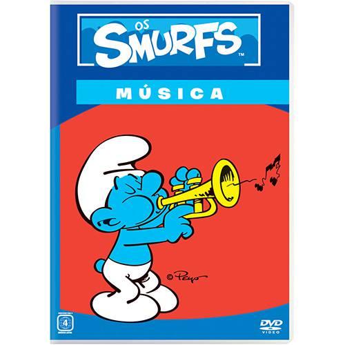 DVD os Smurfs - Música