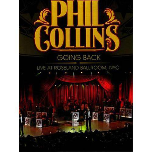 Dvd Phil Collins - Going Back Live At Roseland Ballroom, Nyc