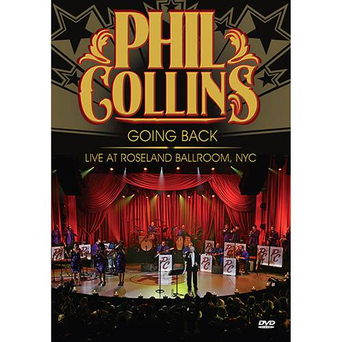 DVD - Phil Collins: Going Back - Live At Roseland Ballroom Nyc