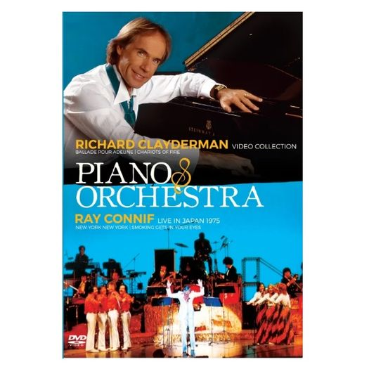 DVD Piano & Orchestra - Richard Clayderman Video Collection + Ray Conniff Live In Japan 1975