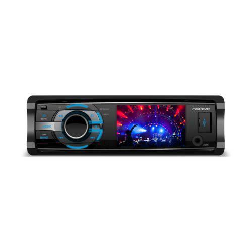 DVD Player Automotivo Pósitron SP4310 AV Tela 3 USB com Controle Remoto
