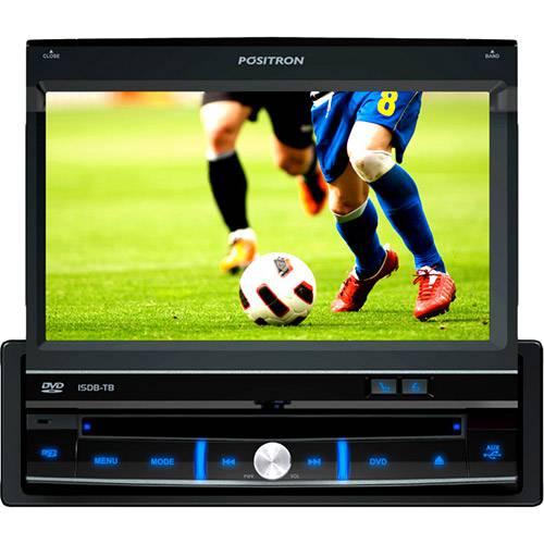 """Dvd Player Automotivo Positron SP6700DTV Tela 7"""" - TV Digital, Entradas USB, Micro SD, AUX e P/câmera de Ré"""