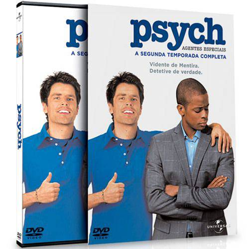 DVD Psych 2ª Temporada (4 DVDs)