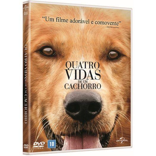 DVD Quatro Vidas de um Cachorro