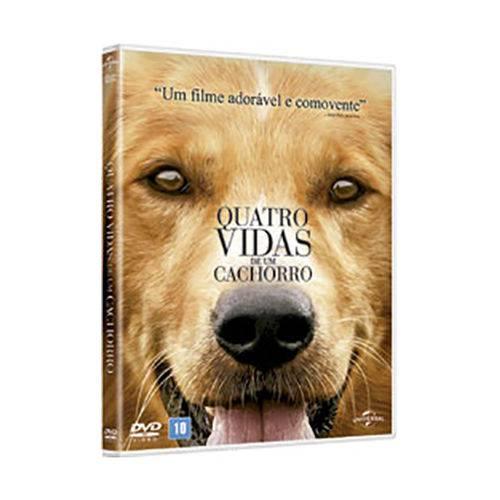 Dvd - Quatro Vidas de um Cachorro