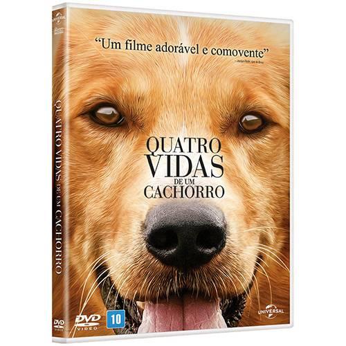 DVD: Quatro Vidas de um Cachorro