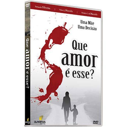 Dvd que Amor é Esse?