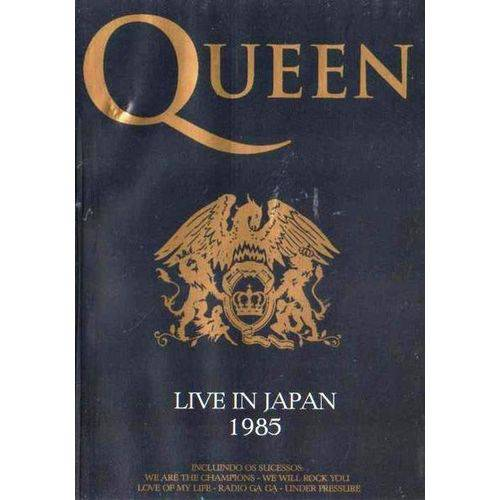 Dvd Queen Live In Japan 1985