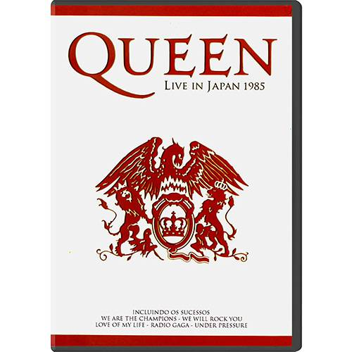 DVD Queen - Live In Japan 1985
