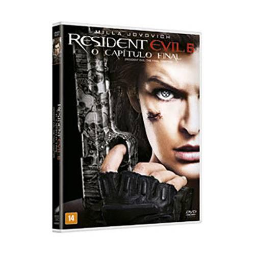 Dvd - Resident Evil 6: o Capítulo Final