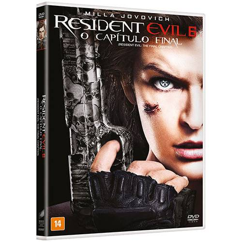 DVD Resident Evil 6: o Capítulo Final
