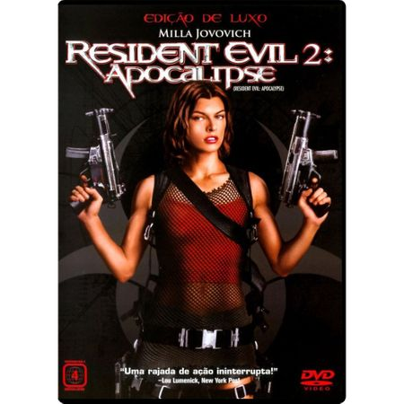 DVD Resident Evil 2 - Apocalipse
