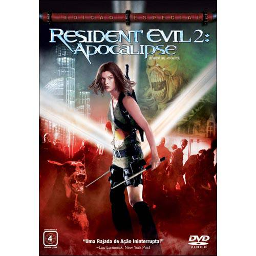 DVD Resident Evil 2 - Apocalypse