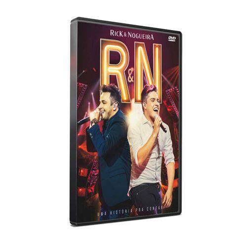 DVD Rick & Nogueira - uma História Pra Contar