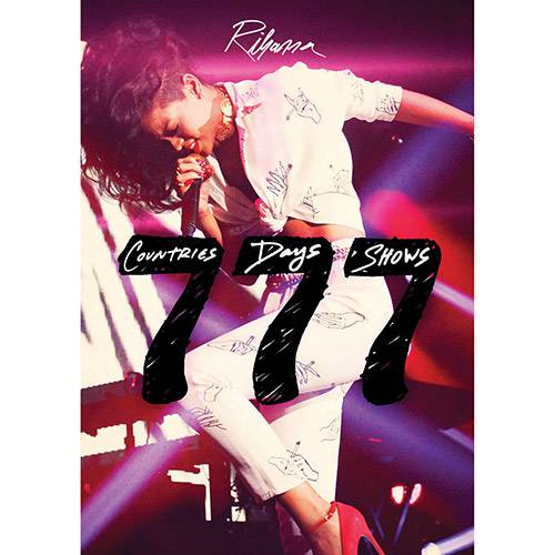 DVD Rihanna - 777 Tour