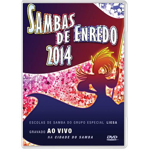 DVD - Sambas de Enredo 2014 - Escolas de Samba do Grupo Especial do Rio de Janeiro