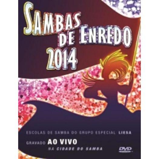 DVD Sambas de Enredo 2014
