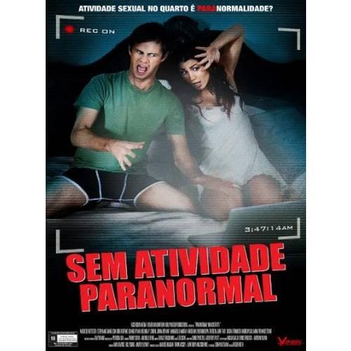 DVD Sem Atividade Paranormal - Aneliese Roettger, Stephanie Danielson