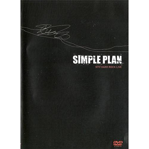 DVD Simple Plan - MTV Hard Rock Live