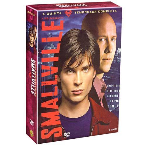 DVD Smallville 5ª Temporada (6 Discos)
