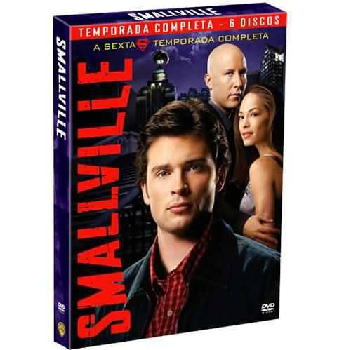 DVD Smallville 6ª Temporada (6 Discos)