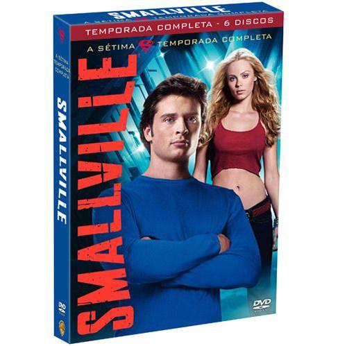 DVD Smallville - 7 ª Temporada (6 DVDs)