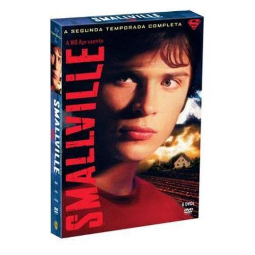 DVD Smallville - 2ª Temporada - 6 Discos