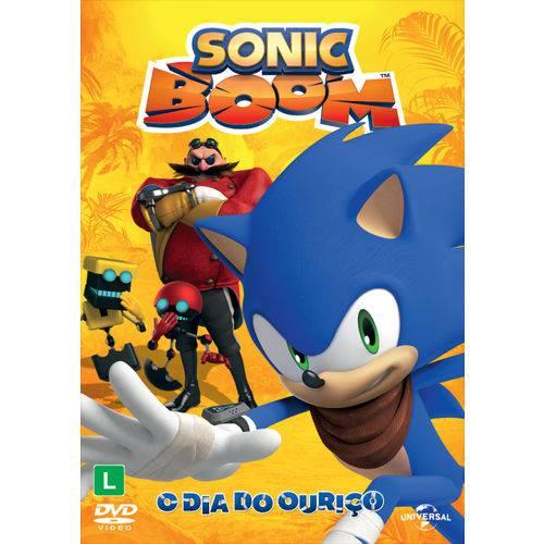 Dvd Sonic Boom - o Dia do Ouriço