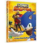 DVD Sonic Boom: o Dia do Ouriço