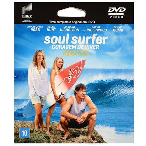 Dvd Soul Surfer, Coragem de Viver - Embalagem Ecológica
