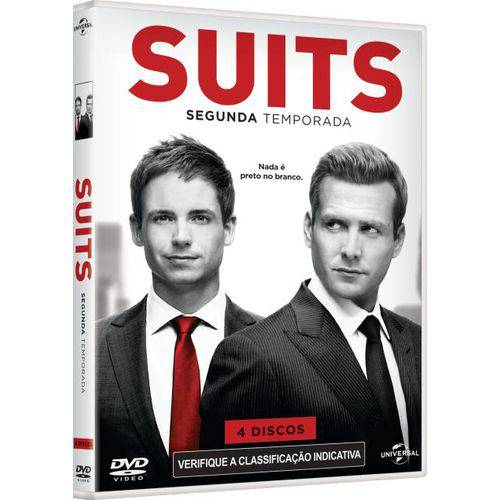 DVD Suits - Homens de Terno - 2ª Temporada - 4 Discos