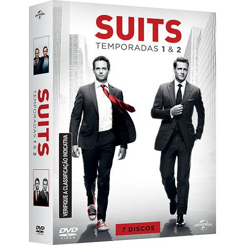 DVD - Suits -Temporadas 1 e 2 (7 Discos)