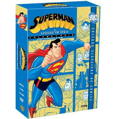 DVD Superman - o Desenho em Série Vol. 2 (3 DVDs)