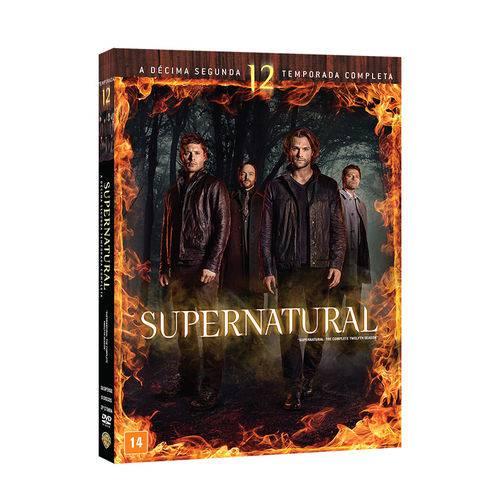 DVD - Supernatural - 12ª Temporada