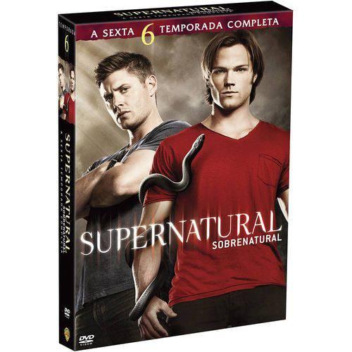 DVD Supernatural 6ª Temporada (6 Discos)