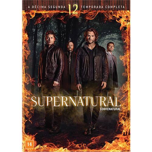 DVD - Supernatural: Sobrenatural 12ª Temporada Completa