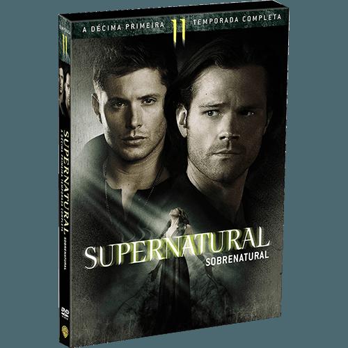 DVD Supernatural - Sobrenatural 11ª Temporada (6 Discos)