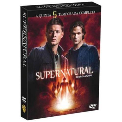 DVD Supernatural - Sobrenatural - 5ª Temporada - 6 Discos