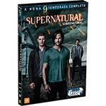 DVD - Supernatural: Sobrenatural - a Nona Temporada Completa (6 Discos)